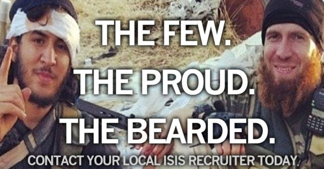 the few the proud the bearded