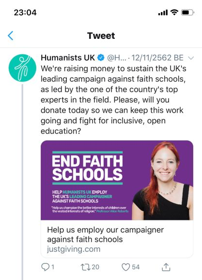 humanist school shut down