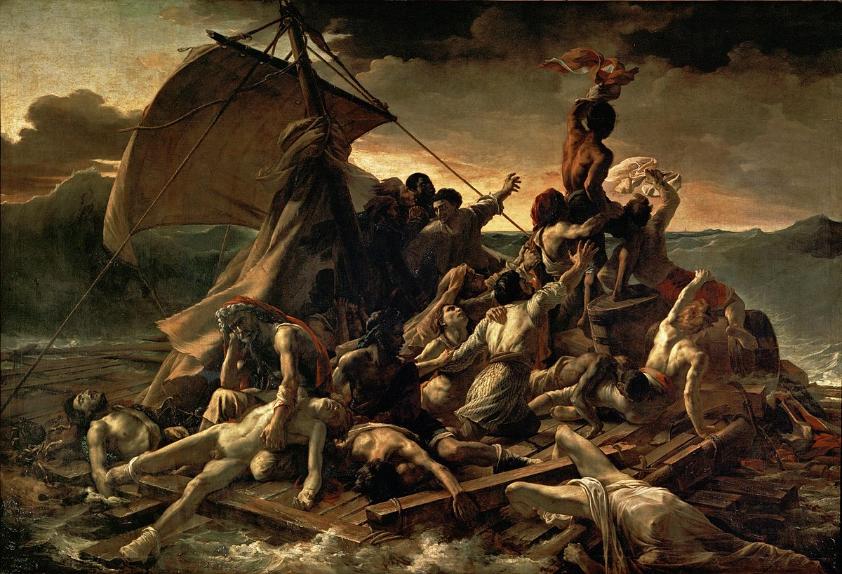 1200px-JEAN_LOUIS_THÉODORE_GÉRICAULT_-_La_Balsa_de_la_Medusa_(Museo_del_Louvre,_1818-19)
